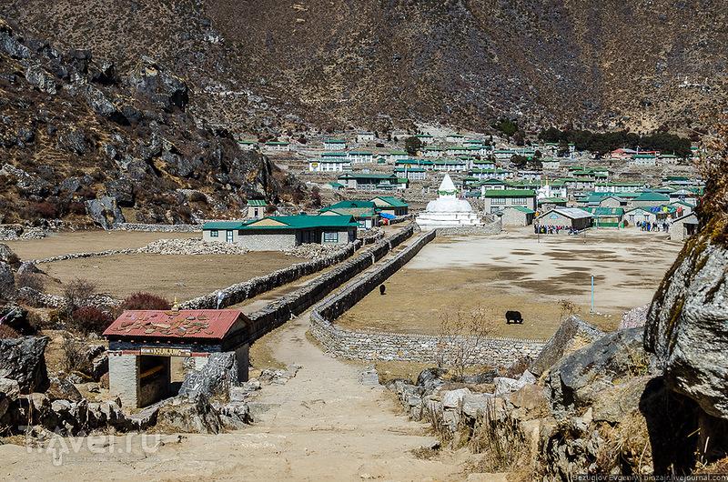 Деревня Khumjung, Непал / Фото из Непала