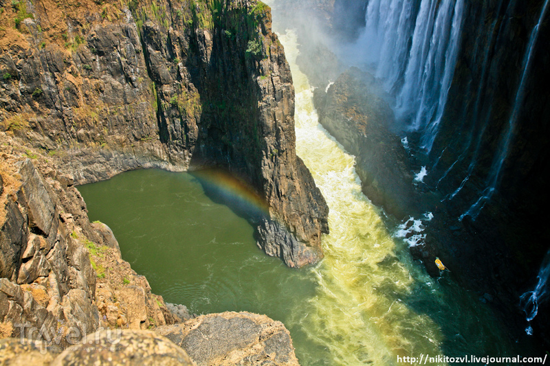 Замбия. Водопад Виктория / Фото из Замбии