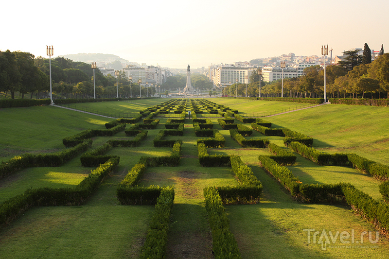 В городе Лиссабон, Португалия / Фото из Португалии