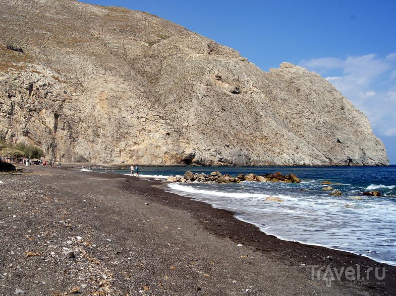 Пляжи Санторина / Фото из Греции