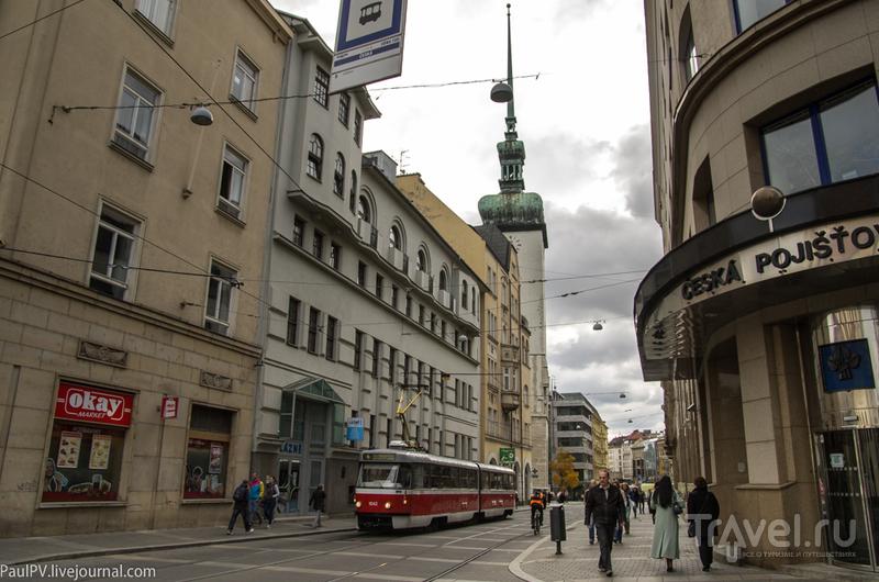 Улица Moravske nam в Брно, Чехия / Фото из Чехии