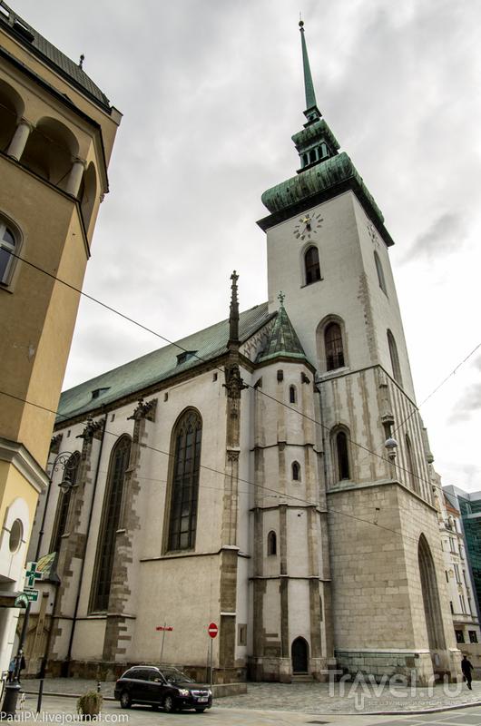 Костел Святого Якуба в Брно, Чехия / Фото из Чехии