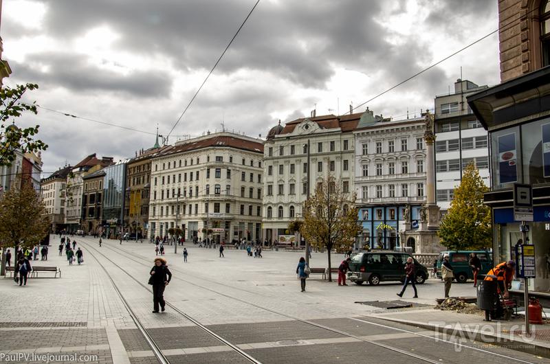 Площадь Свободы в Брно, Чехия / Фото из Чехии
