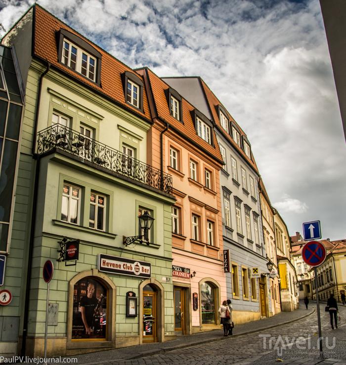 Улица Dominikanska в Брно, Чехия / Фото из Чехии