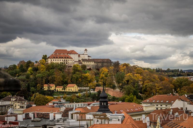 Замок Шпильберк (Spilberk) в Брно, Чехия / Фото из Чехии