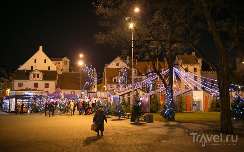 Прогулка по рождественской Риге / Латвия