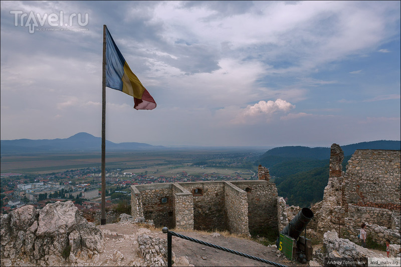 Автопутешествие в Румынию. Рашнов (Рышнов) / Румыния