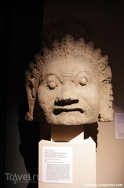 """Искусство кхмеров и выставка """"Angkor - рождение мифа"""" в Париже"""