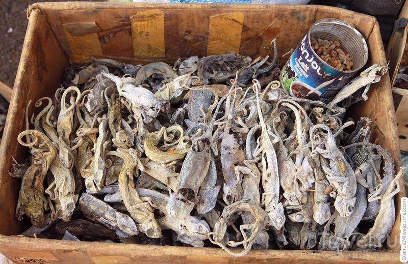 Рынок колдунов в Мали / Мали