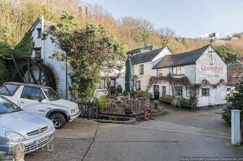 В деревне Polperro, Великобритания / Фото из Великобритании