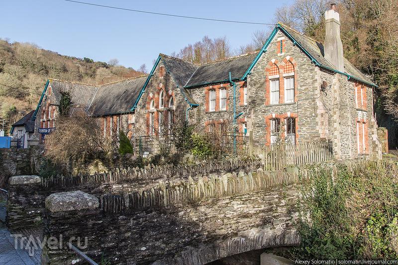 Рыбацкая деревня Polperro на юге Великобритании / Фото из Великобритании