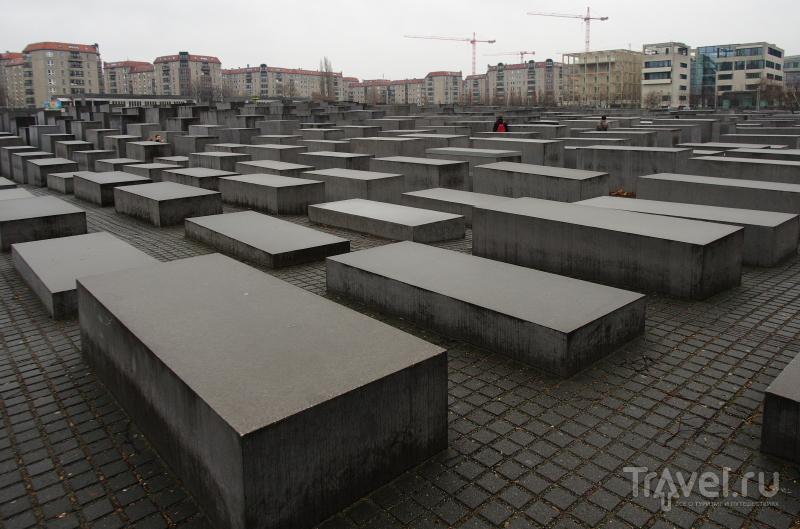 Мемориал жертвам холокоста в Берлине, Германия / Фото из Германии
