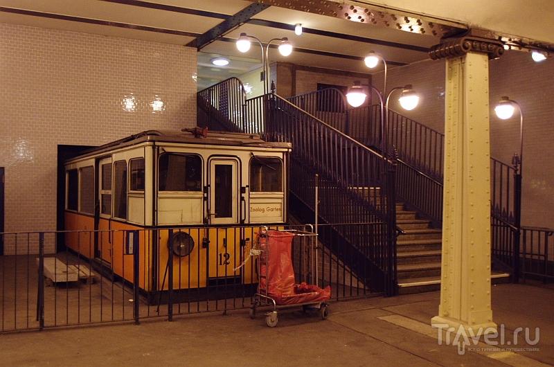 """Станция метро """"Klosterstrasse"""" в Берлине, Германия / Фото из Германии"""
