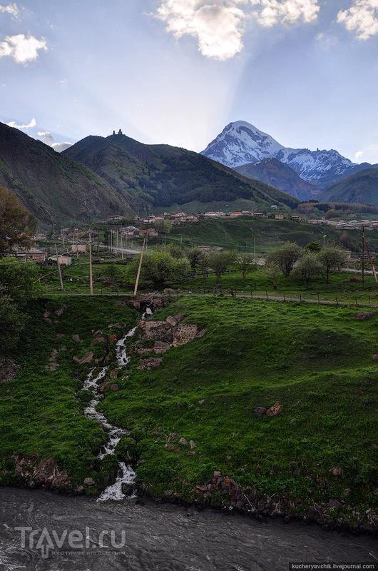 Гора Казбек / Фото из Грузии