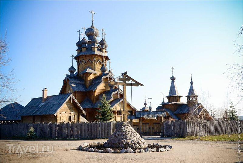 Скит Всех Святых в Святогорске, Украина / Фото с Украины