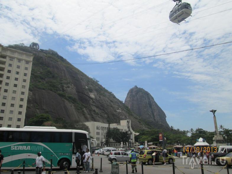 Рио-де-Жанейро. Гора Сахарная голова / Бразилия