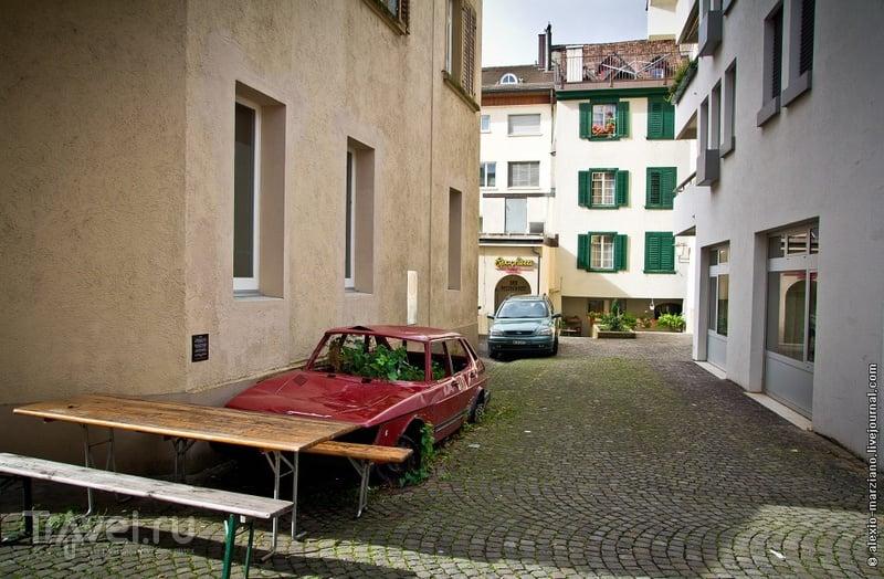 В городе Арау, Швейцария / Фото из Швейцарии