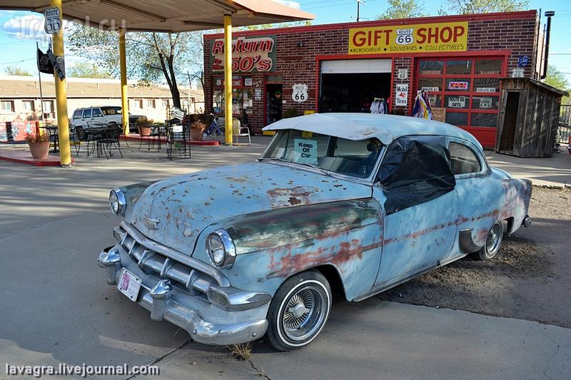 Трасса Route 66 - как заработать миллионы на том, чего нет / Фото из США