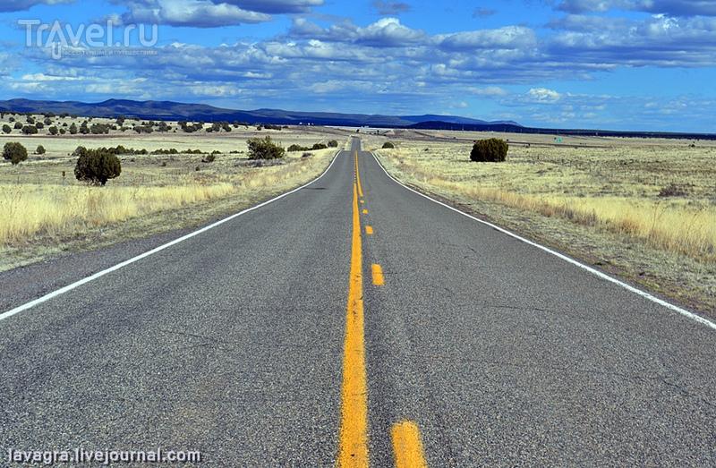 На трассе Route 66 в США / Фото из США
