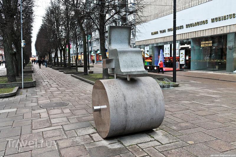 Лайсвес аллея в Каунасе, Литва / Фото из Литвы
