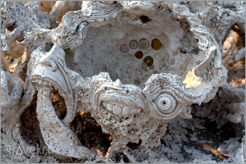 Фрагмент скульптурной группы изображающей ад / Фото из Таиланда