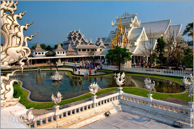 Вид из бота храма / Фото из Таиланда