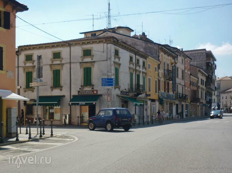 В Италию на мотоцикле. Римини / Италия