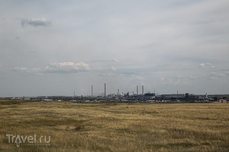 В городе Карагнада, Казахстан / Фото из Киргизии
