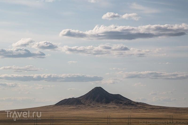 Горы Бугылы, Казахстан / Фото из Киргизии