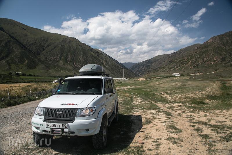 Григорьевское ущелье, Казахстан / Фото из Киргизии