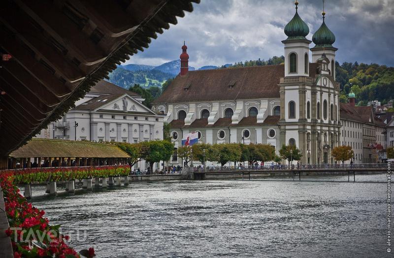 Церковь Иезуитов в Люцерне, Швейцария / Фото из Швейцарии