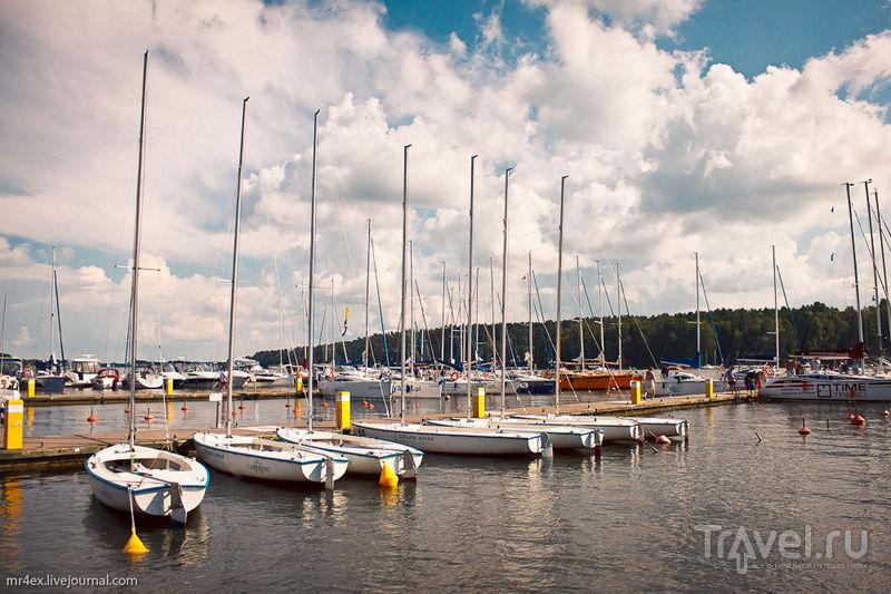 Городок Миколайки. Отличное место для озерного отдыха / Фото из Польши