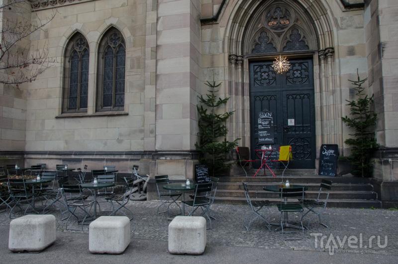 Кафе в церкви / Фото из Швейцарии