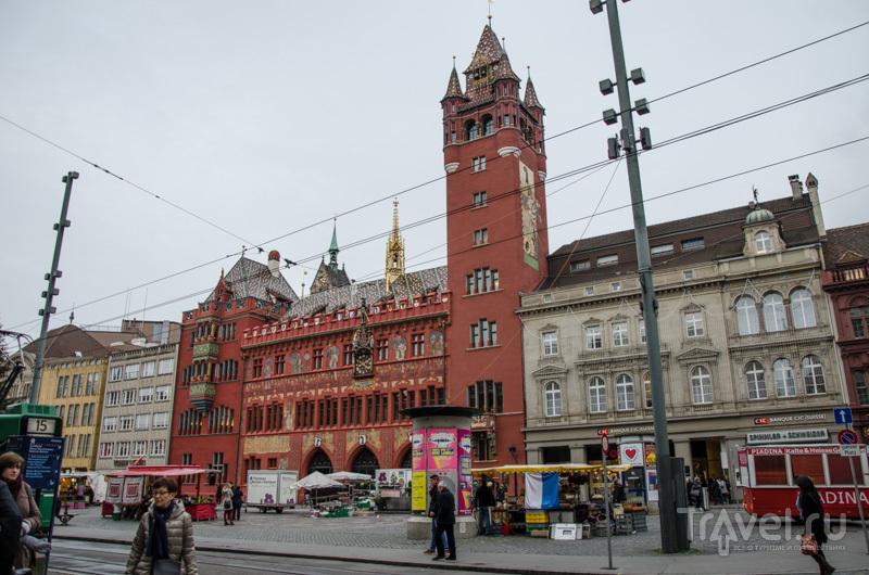 Ратуша в Базеле / Фото из Швейцарии