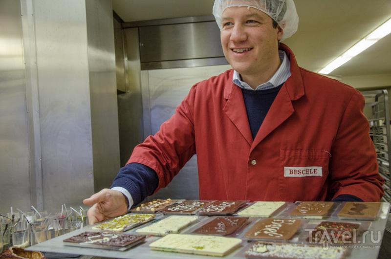 Готовые шоколадки / Фото из Швейцарии
