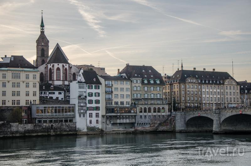 Старый город на закате / Фото из Швейцарии