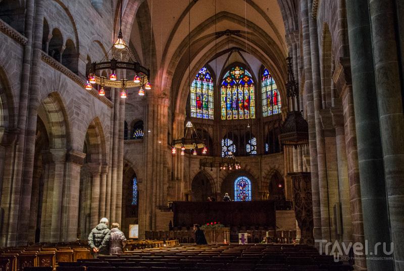 Кафедральный собор Базеля / Фото из Швейцарии