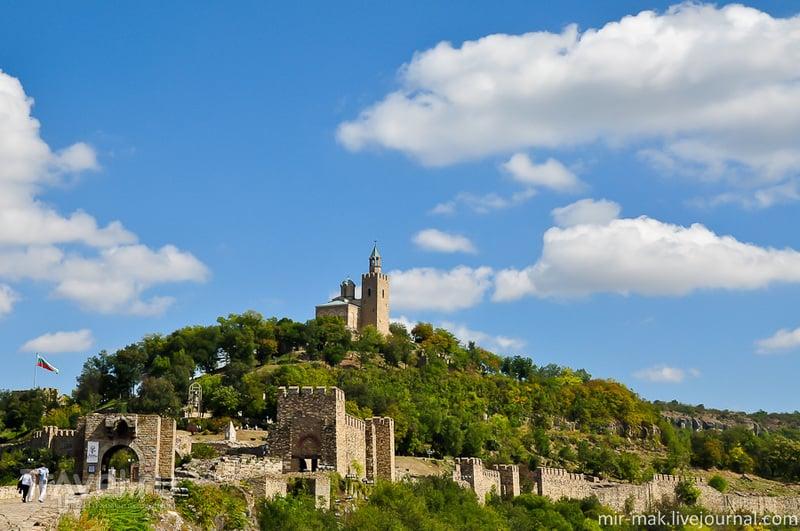 Крепость Царевец. Велико-Тырново / Фото из Болгарии