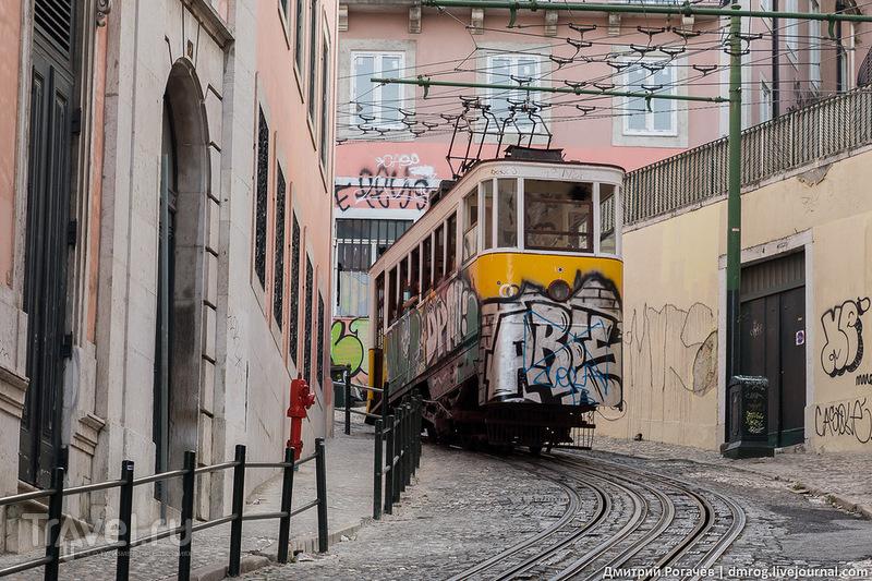 Лиссабон. Между двух холмов / Фото из Португалии