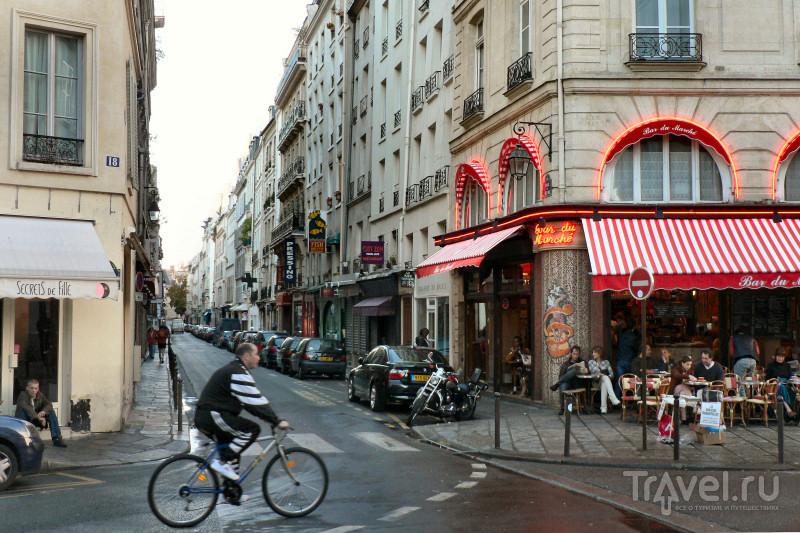 Старая часть улицы Сены