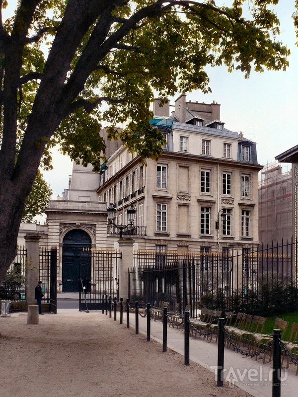 Дом №50 по ул. Вожирар - адрес герцога де Ла Тремуля