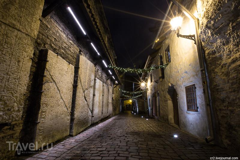 Переулок святой Катарины в Таллине, Эстония / Фото из Эстонии