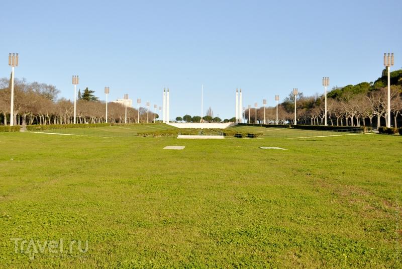 Парк Эдуарда VII в Лиссабоне, Португалия / Фото из Португалии