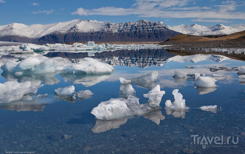 Лагуна айсбергов Йокурсарлон и окрестности / Фото из Исландии