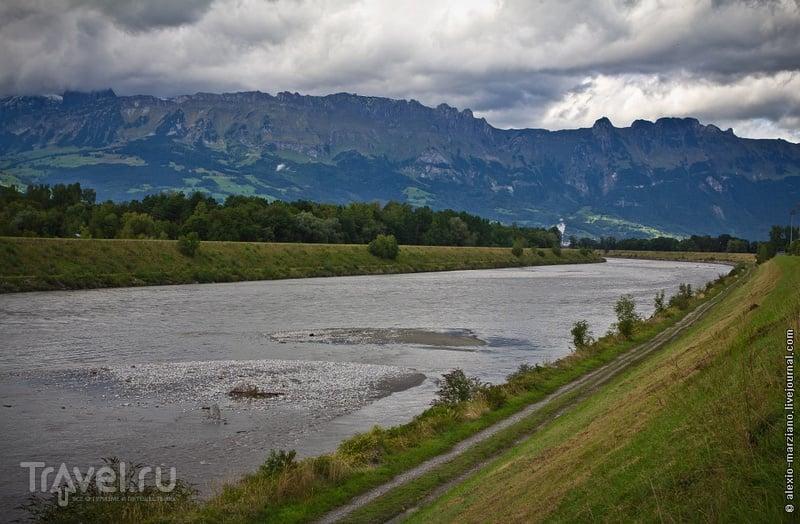 Река Рейн, Лихтенштейн / Фото из Лихтенштейна