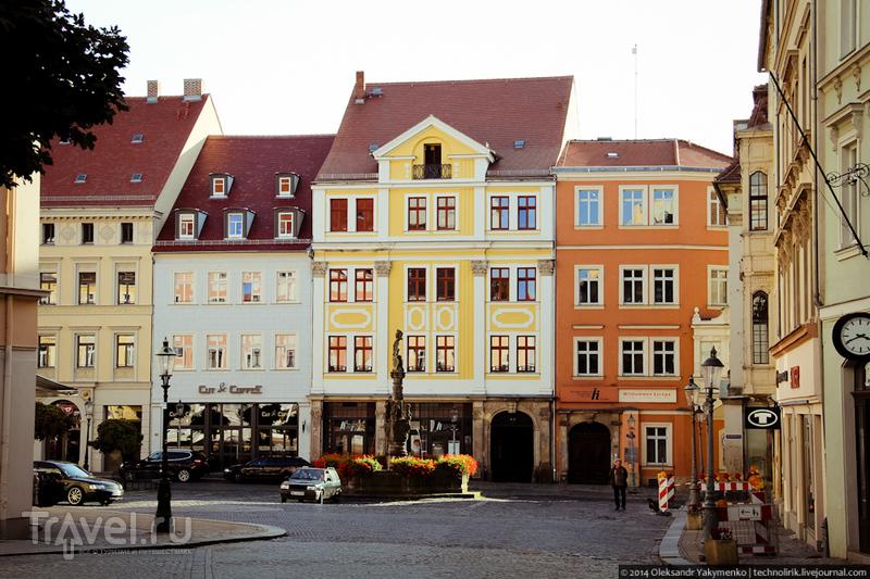 В городе Циттау, Германия / Фото из Германии