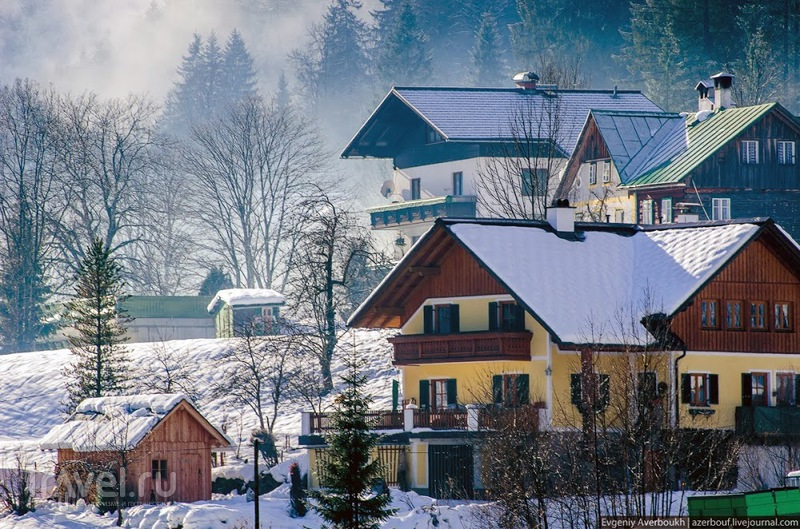 В деревне Гозау, Австрия / Фото из Австрии
