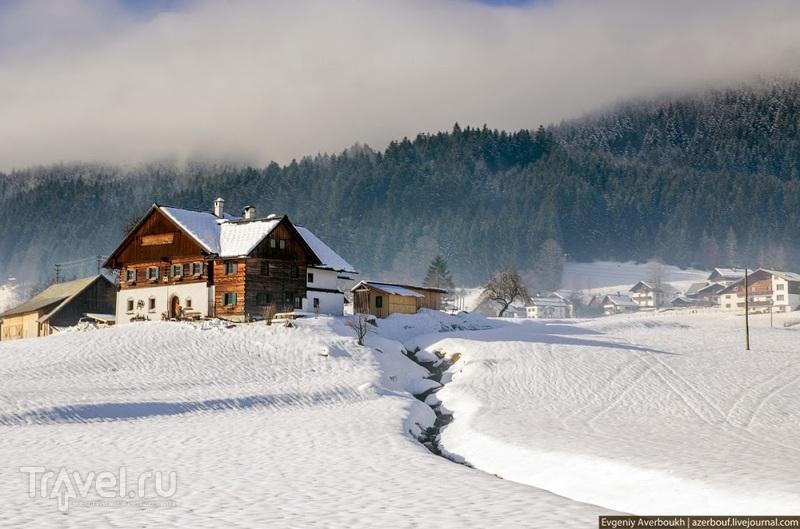 Австрия. Деревня Гозау / Фото из Австрии
