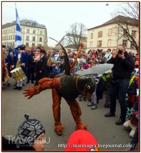 Праздник Фогель Гриф в Базеле / Швейцария