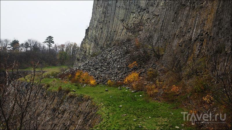 Базальтовая колоннада Hegyestű - геологический феномен Венгрии / Венгрия